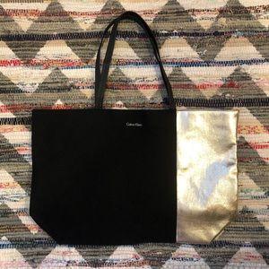 Calvin Klein Oversized Large Carryall Tote Bag